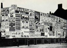 Pubblicità in strada nel 1889 - Mitogram