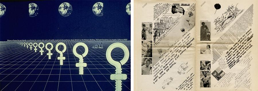 Progetti grafici di Sheila Levrant de Bretteville - Mitogram
